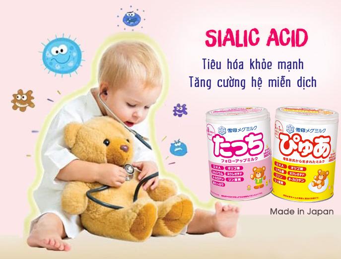 Sialic acid là gì? Vai trò của Sialic acid với trẻ nhỏ